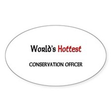 World's Hottest Conservation Officer Decal