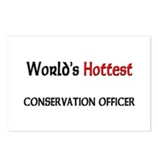 World's Hottest Conservation Officer Postcards (Pa