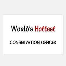 World's Hottest Conservation Officer Postcards (Pa