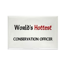 World's Hottest Conservation Officer Rectangle Mag