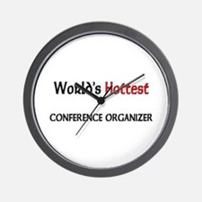 World's Hottest Conference Organizer Wall Clock
