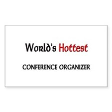 World's Hottest Conference Organizer Decal