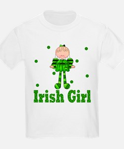 Irish Girl Ireland Pride T-Shirt