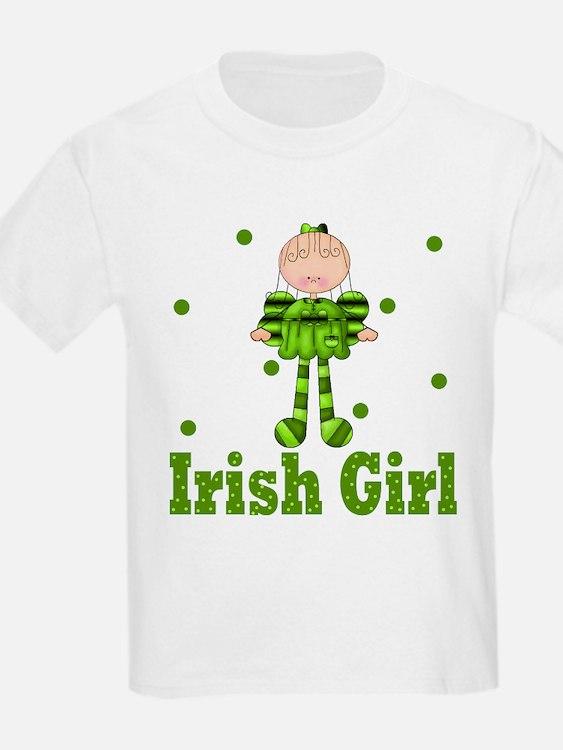 Irish Girl Ireland Pride T-Shirt