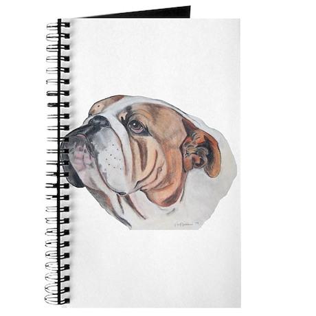 Bulldog Portrait Journal