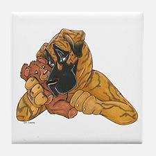 NBr Teddy Hug Tile Coaster