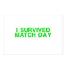 I Survived Match Day Postcards (Package of 8)