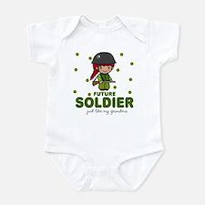 Future Soldier Like Grandma Baby Infant Bodysuit