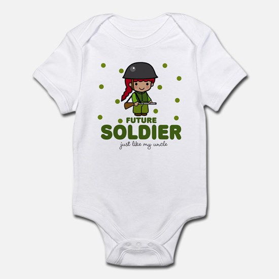 Future Soldier Like Uncle Baby Infant Bodysuit