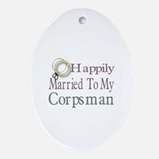 happily married to Oval Ornament