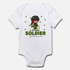 Future Soldier like Auntie Baby Infant Bodysuit