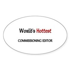 World's Hottest Commissioning Editor Decal