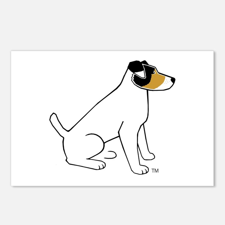 Chile The Jack Russell Terrier Cards (Pack of 8)