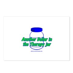Another $ in the Therapy Jar Postcards (Package of