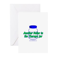 Another $ in the Therapy Jar Greeting Cards (Pk of