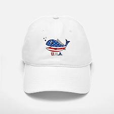 American Fishy Baseball Baseball Cap