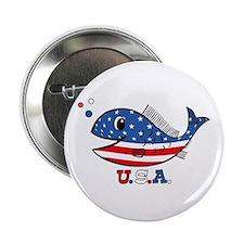 """American Fishy 2.25"""" Button"""