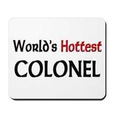 World's Hottest Colonel Mousepad