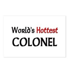World's Hottest Colonel Postcards (Package of 8)