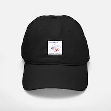 Happiness is...an American Eskimo Dog Baseball Hat