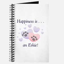 Happiness is...an Eskie Journal