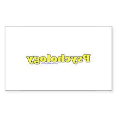Reverse Psychology 2 Rectangle Sticker 50 pk)