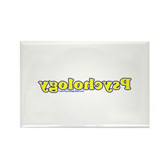 Reverse Psychology 2 Rectangle Magnet (100 pack)