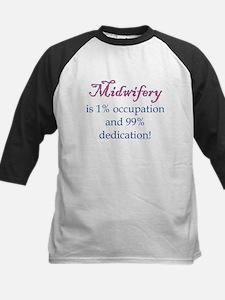 Midwifery/Occupation Kids Baseball Jersey