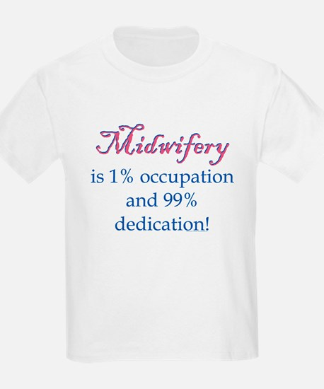 Midwifery/Occupation Kids T-Shirt