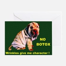 Shar Pei Puppy- Greeting Card