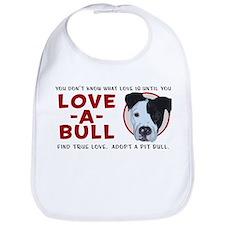 Love A Bull Bib