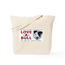 Love A Bull Tote Bag