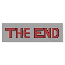 The End bumper sticker.