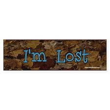 I'm Lost bumper sticker