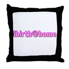 ibirth@home Throw Pillow