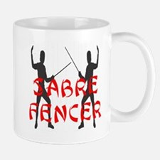 Sabre Fencer Mug