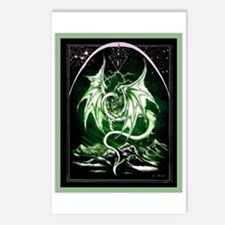 Dragon Art 3 Postcards (Package of 8)