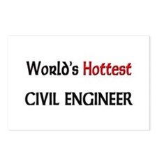 World's Hottest Civil Engineer Postcards (Package
