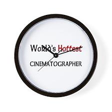 World's Hottest Cinematographer Wall Clock