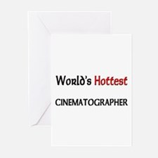 World's Hottest Cinematographer Greeting Cards (Pk