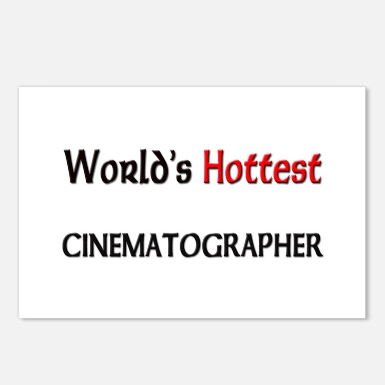 World's Hottest Cinematographer Postcards (Package