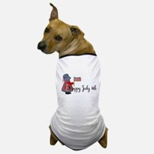 Happy July 4th - Little Count Dog T-Shirt