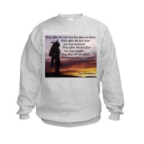 Native Prophecy - Environment Kids Sweatshirt