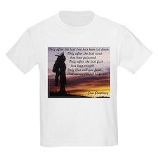 Native Prophecy - Environment Kids T-Shirt