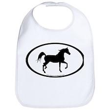 Arabian Horse Oval Bib