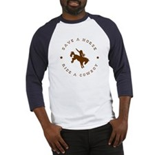 Save A Horse Ride A Cowboy Baseball Jersey