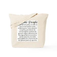 We the People US Tote Bag