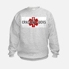 Crashing Sucks Sweatshirt
