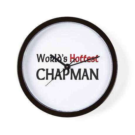 World's Hottest Chapman Wall Clock