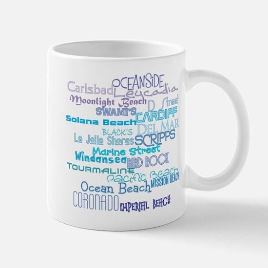 SurfLine01 Mugs